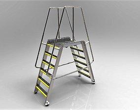 3D model Acess Platform Ladder