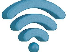 Wireless and WiFi Symbol V01 3D model