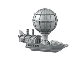 3D printable model Airship hangar