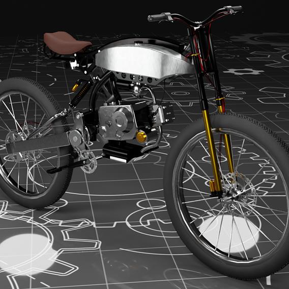 Moto-Bike Retro