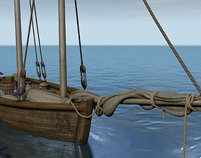 Sailboat with a commodity 3D