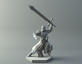3D print model character Warrior