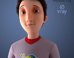 3D model Animated Cartoon Character Rigged