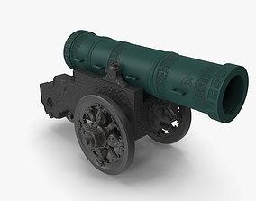 Tsar Cannon 3D asset game-ready