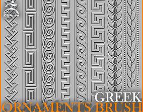 3D model Greek Ornaments Brush for ZBrush