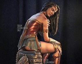 3D print model Wonder Woman - Battle Scarred