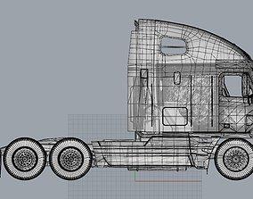 Truck 3D Print Model - freight argosy