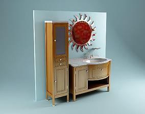 3D Classic Washstand interior