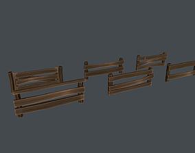 Fence 3D asset realtime PBR
