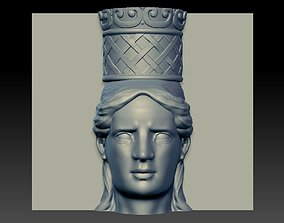 3D Caryatids - Sample
