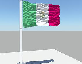 Mexico flag 3D model