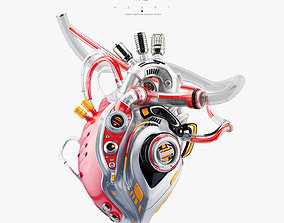 human Robotic heart 3D