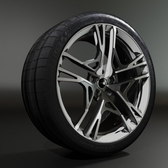Making wheel of Audi R8 Sport Model 2020