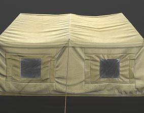 3D model VR / AR ready Low poly Tent