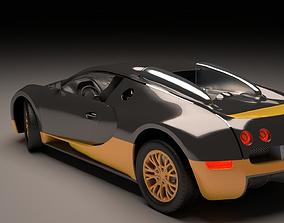 3D model sport bugatti veyron