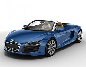 3D Audi R8 Spyder 2010