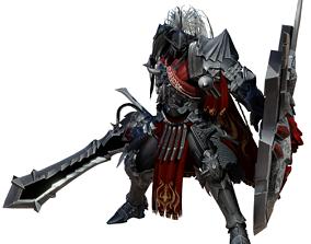 3D asset Lakan character