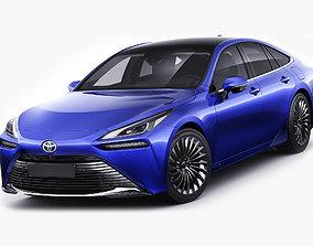 Toyota Mirai 2022 3D