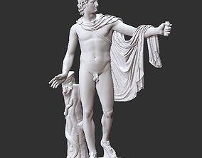 Apollo sculpture 3D model
