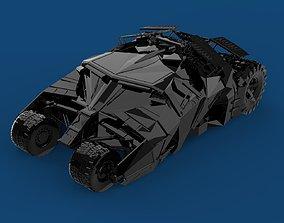 3D print model Batmobile