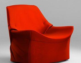 Living Divani Kiru armchair 3D