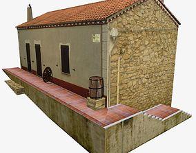 Village Home S-C-W 3D model