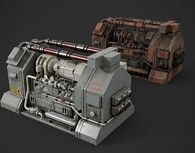 Machinery device 3D PBR compressor
