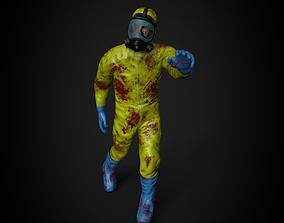 3D asset Hazmat Zombie