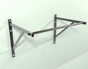 Pull up bar 3D model