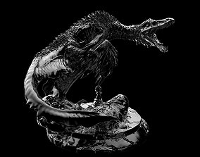 3D print model Sinornithomimus Chess Piece Pawn