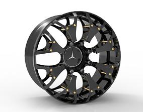 3D printable model Benz sport rim
