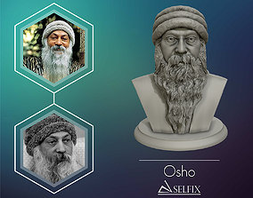 Rajneesh OSHO 3D printable sculpture osho