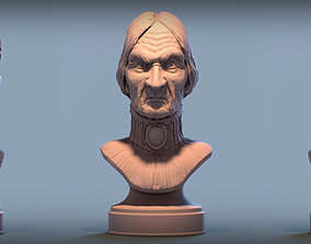 3D printable model Haunted Mansion Female Bust