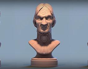 3D printable model Haunted Mansion Female Bust