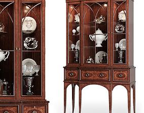 Century - Wellington Court Breakfront Display Cabinet 3D 1