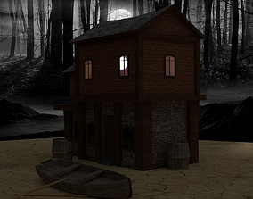 Medieval House Collection No1 3D model