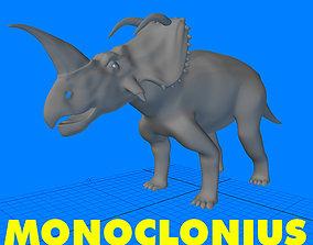 3D model Monoclonius