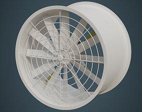 3D model Industrial Fan 2A