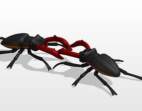 stag beetle 3D print model