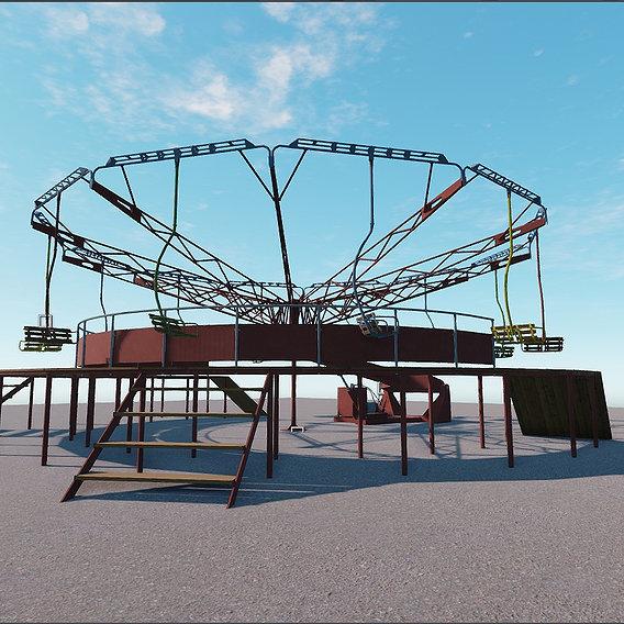 carousel romashka Pripyat