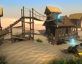 3D model Cartoon Platformer CS
