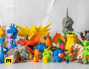 All Pokemon - Low-poly Set 3D printable model