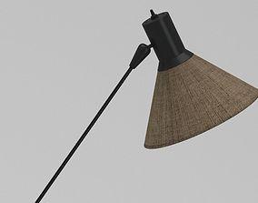 3D model Gilbert Watrous MOMA Lamp