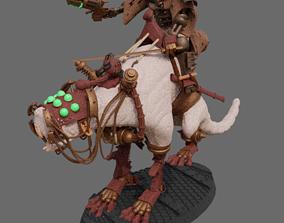 Dark Mech Rat Riders 3D print model