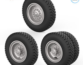 3D printable model Truck wheels 1-32
