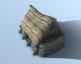3D asset Nordic House 3