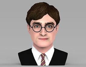 Harry Potter bust ready for full color 3D printing