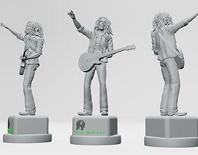 actionfigure Bob Marley - 3D Printable