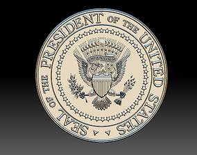 Presidential Seal 3d Printing