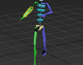 3D yellow red card 39-6in1 motioncapture